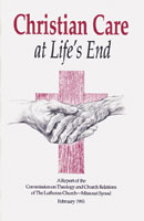 Christian Care at Life's End - CTCR