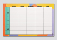 Class Assignments Wall Chart