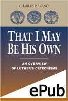 That I May Be His Own (EPUB Edition)