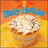 Happy Birthday: God's Blessings to You!