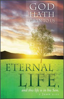 Standard Funeral Bulletin: God hath given us eternal life