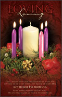 Standard Advent Bulletin: Loving