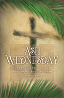 Standard Ash Wednesday Bulletin: Dust Thou Art