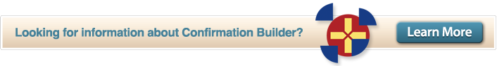 Confirmation Builder