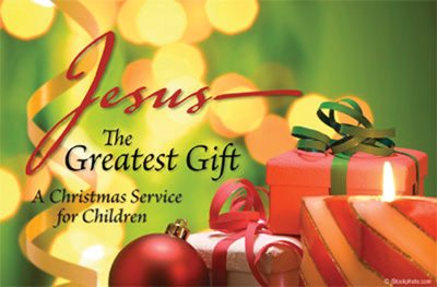 Jesus the greatest gift christmas program downloadable negle Gallery