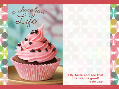 A chocolate life powerpoint template downloadable toneelgroepblik Choice Image