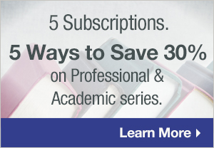 Professional and Academic Book Subscriptions
