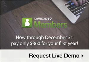 Church360 Members $360 Sale