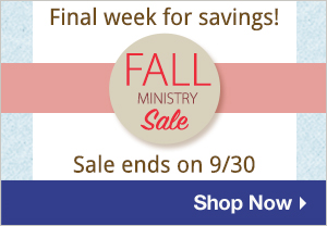 Fall Ministry Sale Reminder
