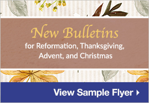 Fall Bulletins - View Sample Flyer>