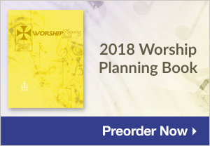 Preorder Worship Planning Book: Year B 2018