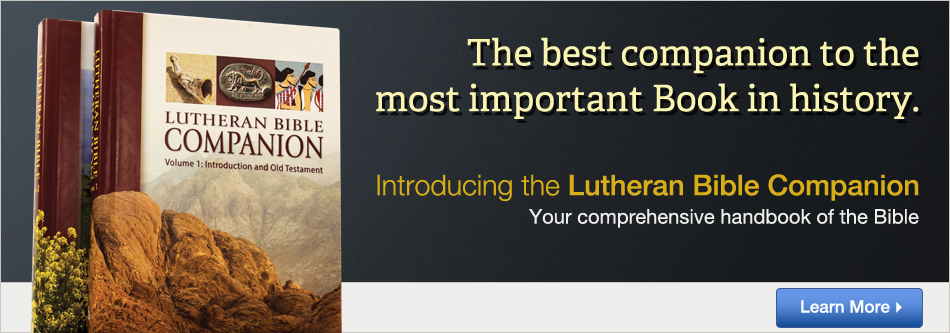 The Lutheran Bible Companion
