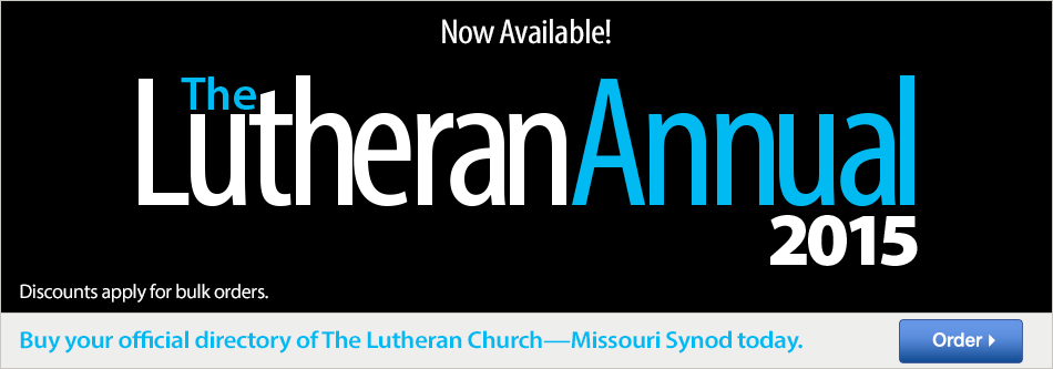 The Lutheran Annual 2015
