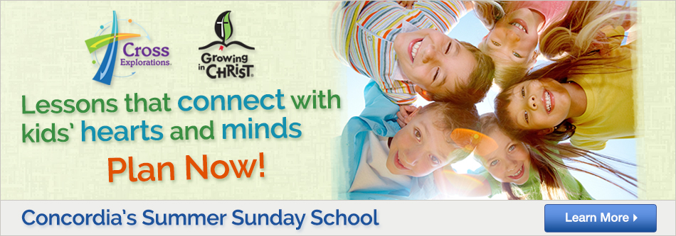 2015 Summer Sunday School Plan