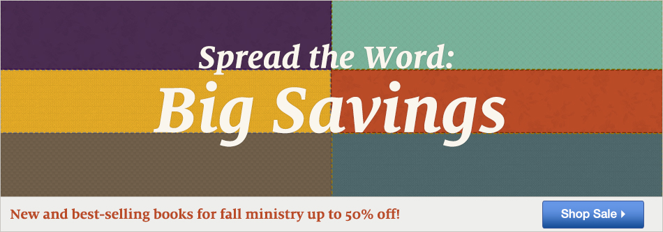 2015 Fall Ministry Catalog Sale