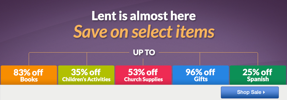 Lent Sale - 4 Days Only
