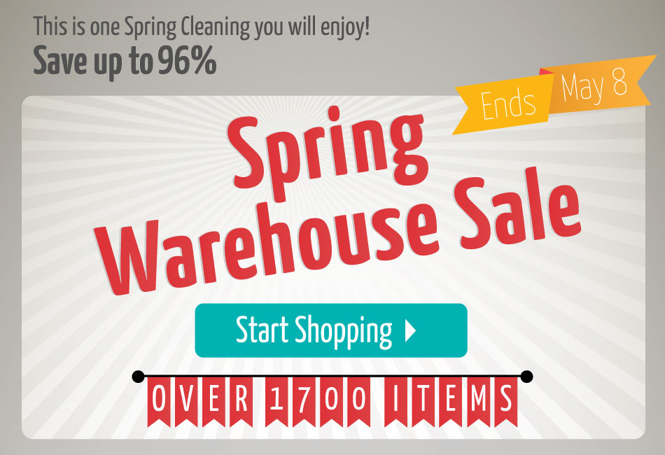 2015 Spring Warehouse Sale