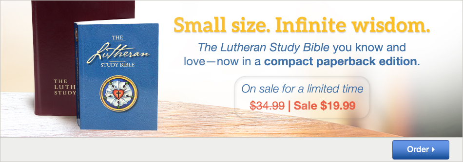 The Lutheran Study Bible  Compact Edition