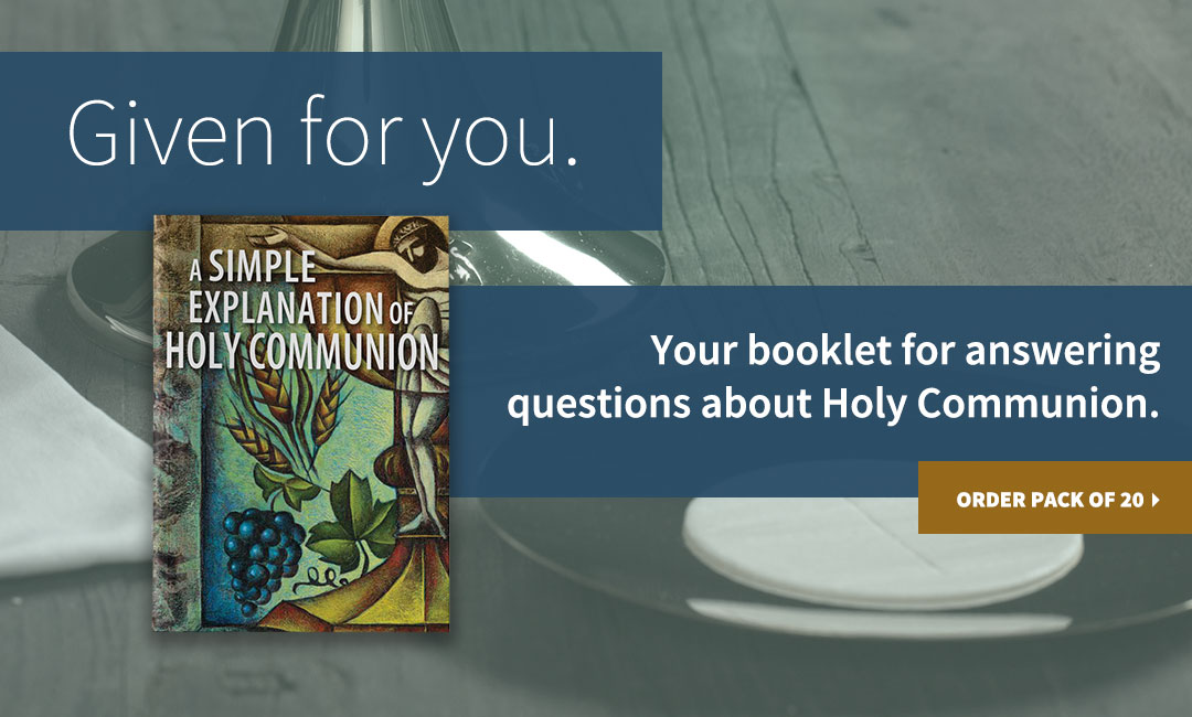 A Simple Explanation of Holy Communion